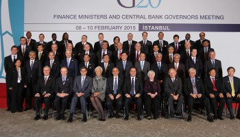 First G20 Finance Ministers and Central Bank Governors Meeting held under Turkish Presidency in Istanbul